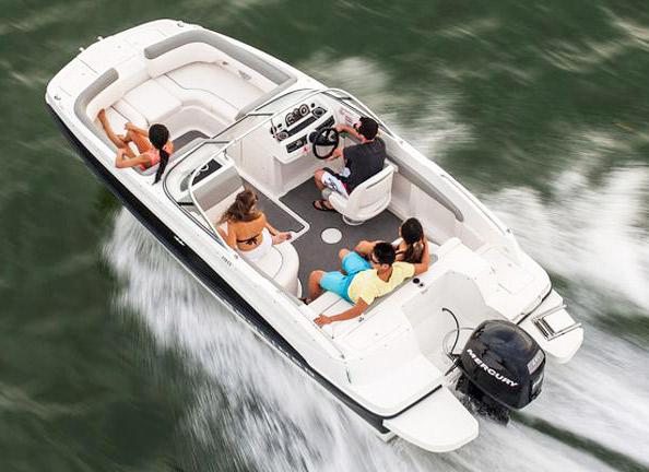 Traverse Bay Deck Boat Rental