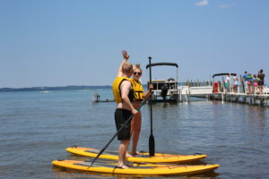 Traverse Bay Stand Up Paddleboard Rental